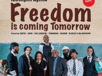 Dr Mbongeni Ngema – Freedom Is Coming Tomorrow (Remix) Ft. Emtee, Saudi, Gigi Lamayne, Tamarsha, Reason, Blaklez & DJ Machaba mp3 download