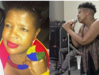Candy Tsa Mandebele claims to be surviving on mother's pension