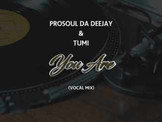 DOWNLOAD ProSoul Da Deejay & Tumi You Are (Vocal Mix) Mp3