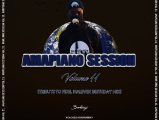 DOWNLOAD IssaDaDeejay AmapianoSession Vol 11 (Tribute To Fidel Maleven Birthday Celebration Mix) Mp3