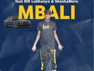 DOWNLOAD Six DreamChaser Mbali Ft. IDK Lukhanyo & Sheshamore Mp3