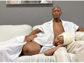 Warren Masemola and wife