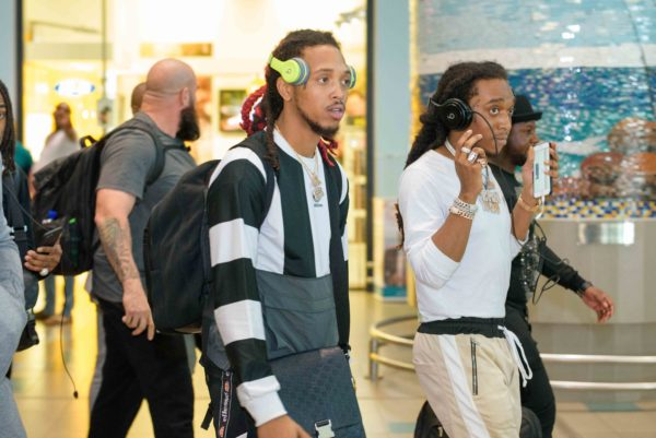 Migos To Perform To In South Africa Today (Photos)