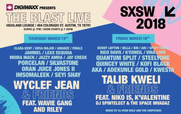 Kwesta And AKA To Perform For SXSW 2018 In Texas