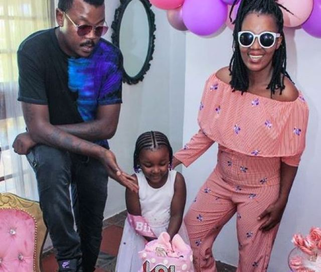 Comedian Tol Ass Mo And Mrs Mome Organized A Colourful Birthday Party For Their 5 Years Old Daughter Khumo