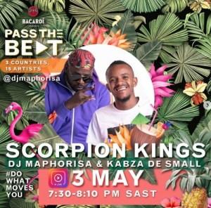 Bacardi x Scorpion Kings (Dj Maphorisa & Kabza De Small) Amapiano Live Mix Mp3 Download