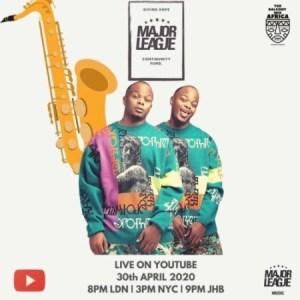 Major League Amapiano Live Balcony Mix 13 Mp3 Download
