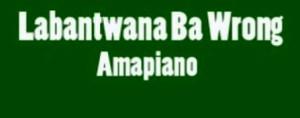 Labantwana Ba Wrong Amapiano
