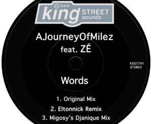 AJourneyOfMilez – Words (Original Mix) Ft. ZÉ