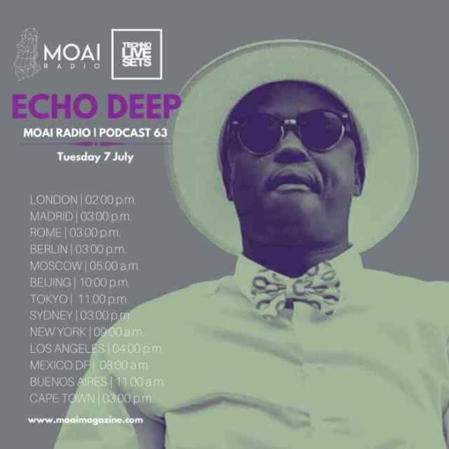 Echo Deep – MOAI Radio Podcast 63