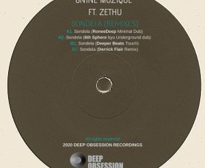 8nine Muzique & Zethu – Sondela (Remixes)