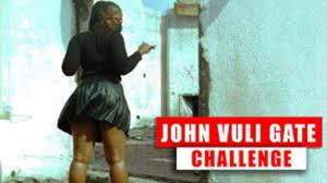 John Vuli Gate Challenge