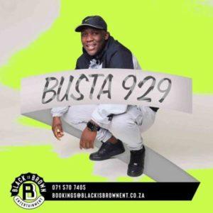 Busta 929 – Tech Rider