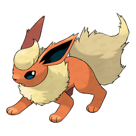 Pokemon 136 Flareon