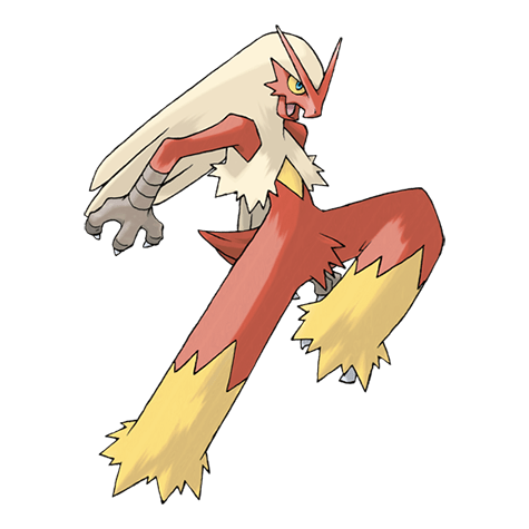 Pokemon 257 Blaziken