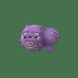 Pokemon Go 110 Weezing