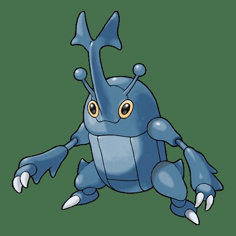 Pokemon 214 Heracross
