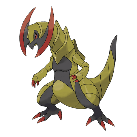 Pokemon 612 Haxorus