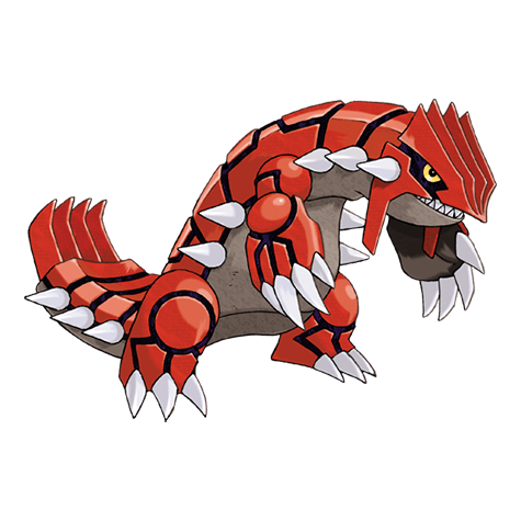 Pokémon 383 Groudon