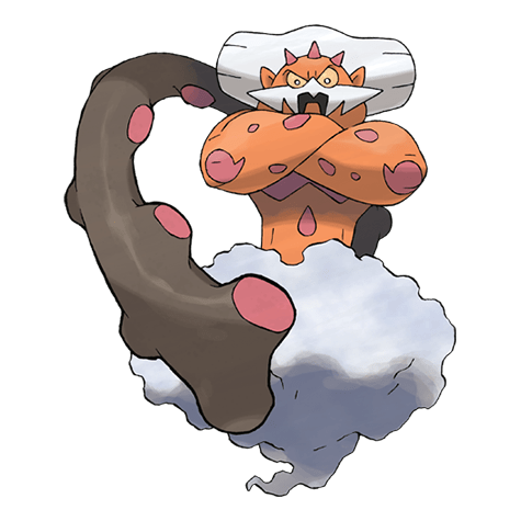 Pokemon Landorus embodied