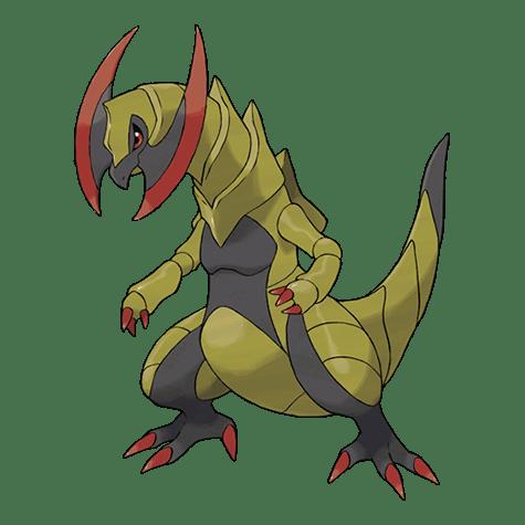 Pokemon 612 Haxorus