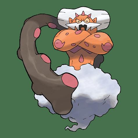 Pokemon Landorus embodied
