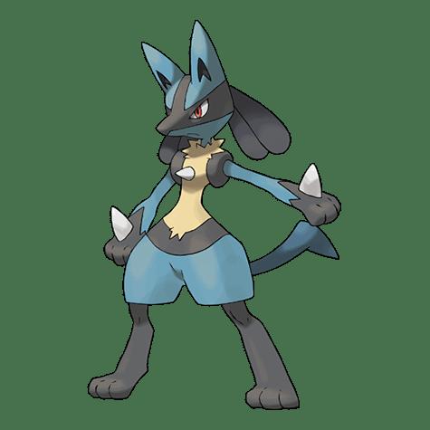 Pokemon 448 Lucario