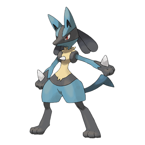 Pokemon 448 Lucario