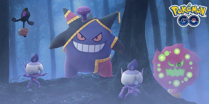 Niantic announces details for Halloween 2020 in Pokémon Go