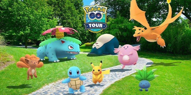 Niantic announces Pokémon Go Tour Kanto event and Shiny Mew