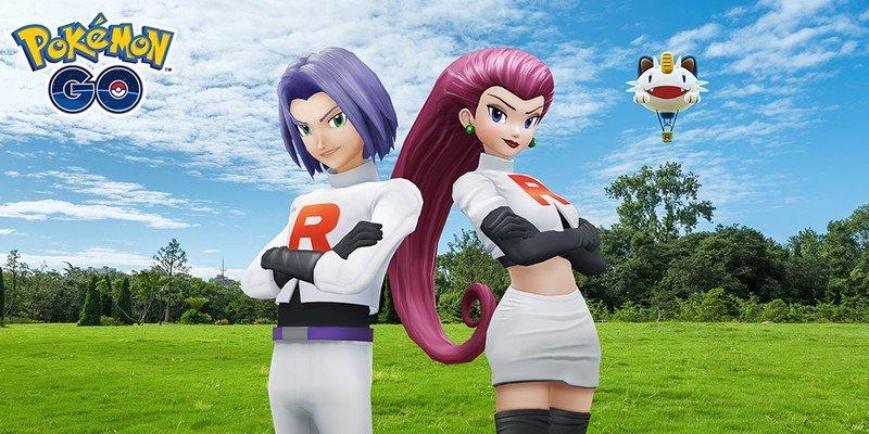 Pokemon Go Team Go Rocket Jessie James