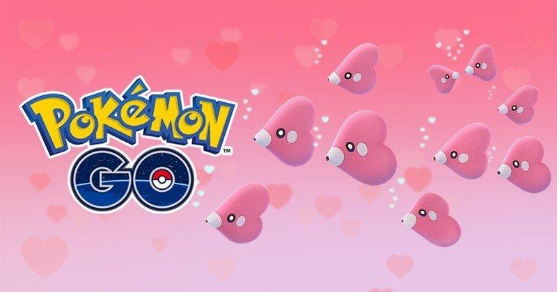 Pokémon Go Love Cup celebrates red and pink Pokémon