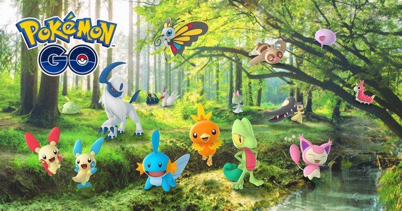 Pokémon Go puts the Hoenn region in the spotlight