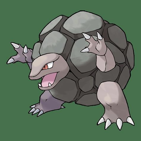 Pokémon 076 Golem