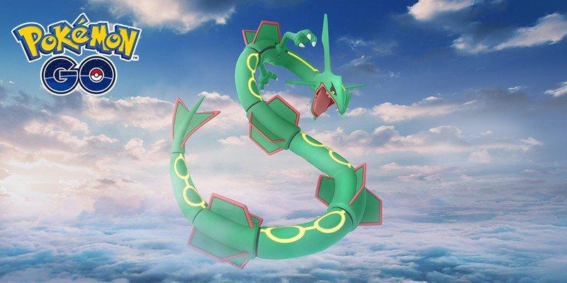 Rayquaza makes a surprise return to Pokémon Go