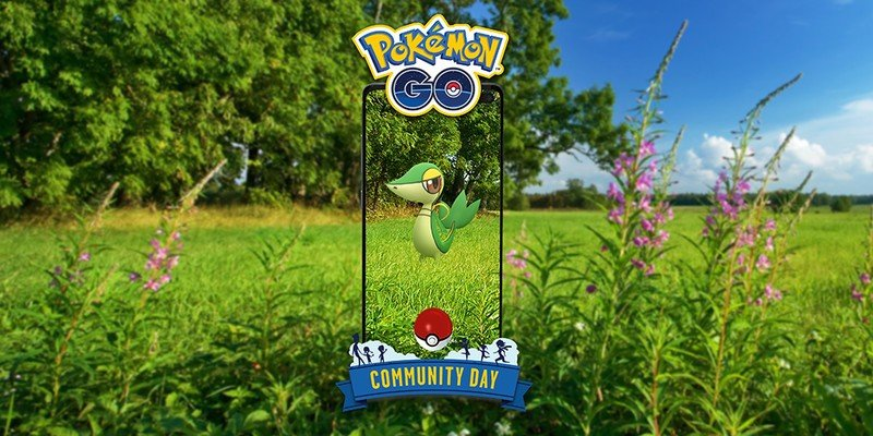 Snivy will be featured in Pokémon Go Community Day April 2021