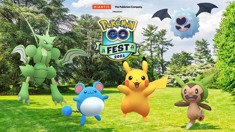 Pokemon Go Fest 2021 heroes