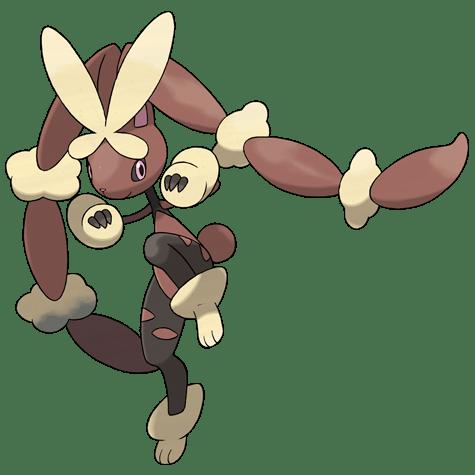 Pokemon 428 Lopunny Mega