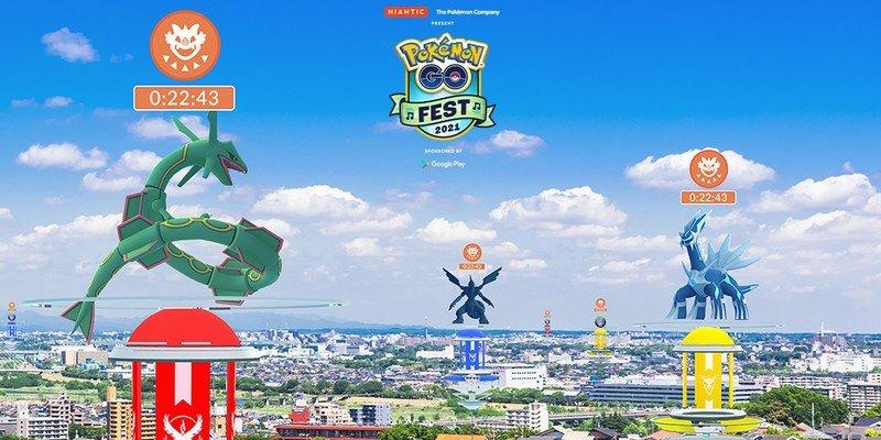 Pokémon Go Fest 2021: Raid Day will feature every Legendary Pokémon
