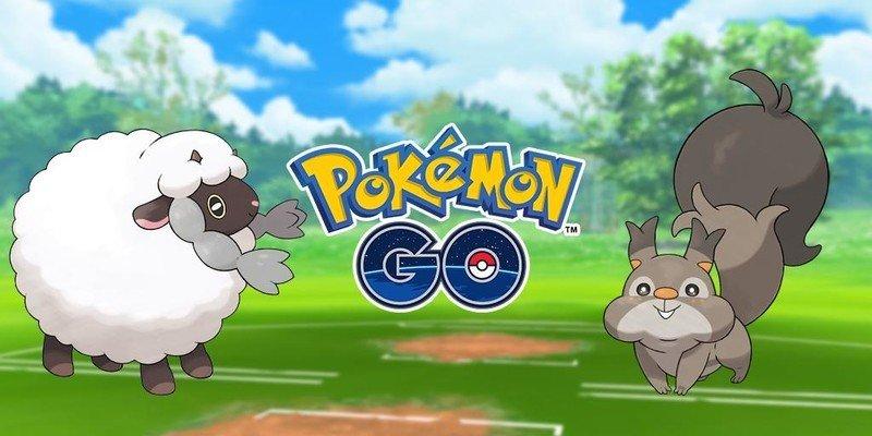 Pokemon Go Wooloo Skwovet