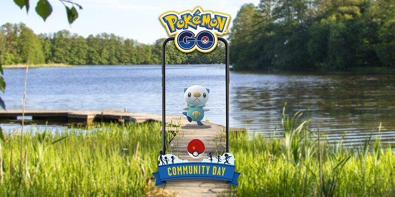 Pokemon Go Oshawott Community Day