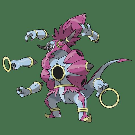 Pokemon 720 Hoopa Hairline