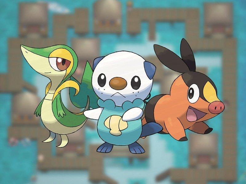 Pokémon Gen 5 Starters