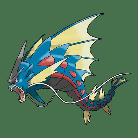 Pokemon 130 Gyarados Mega