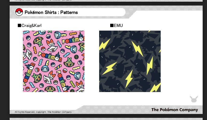 Original Stitch x Pokemon Company Partner with 5 Artists for New Patterns 10