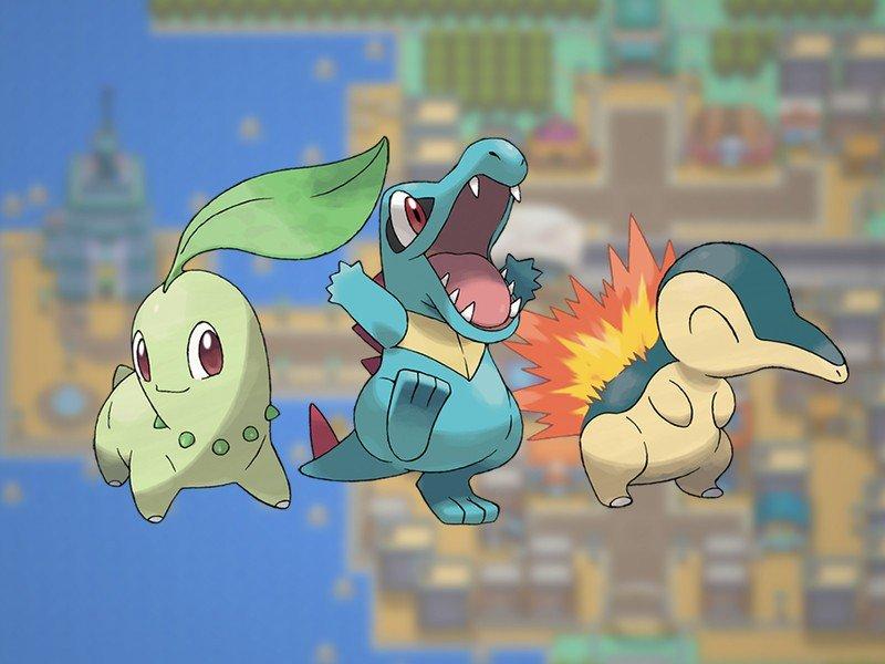 Pokémon Gen 2 Starters