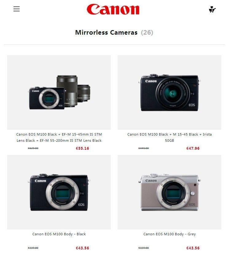 Camera Shoppings.club Tienda Online Falsa Camaras