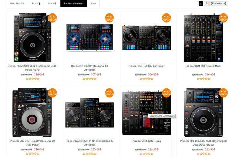 ctouw.com tienda online falsa dj