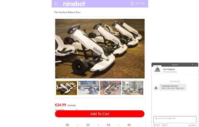 Emotorcyclebest.club Home Fake Ninebot Kart Shop