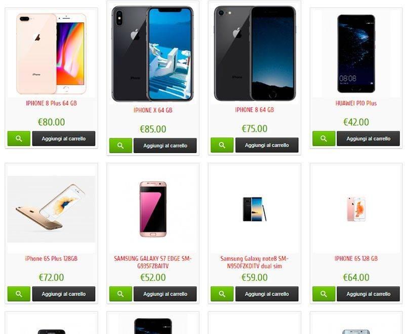 Lunaup.top Tienda Falsa Smartphones